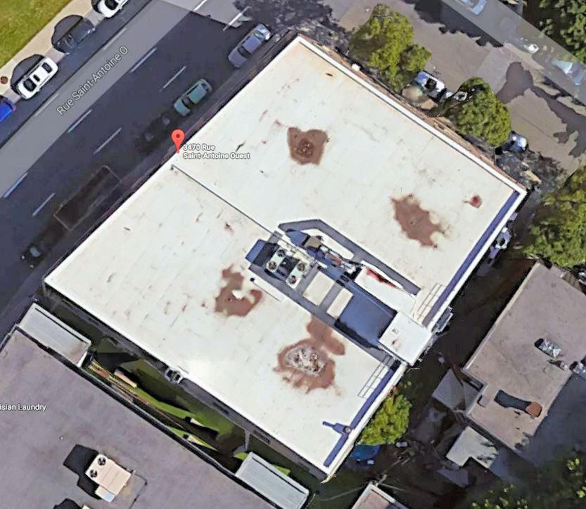 Réfection des toitures de l'entrepôt des Archives