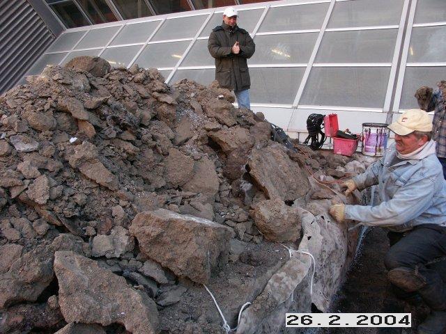 Réfection du toit intensif du Palais des congrès